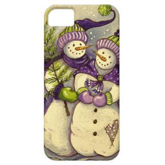 4882 navidad de los muñecos de nieve funda para iPhone SE/5/5s