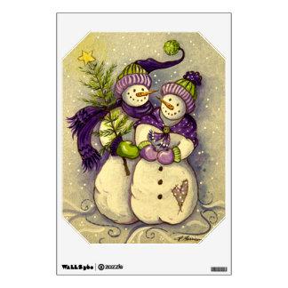 4882 Snowmen Christmas Wall Decal
