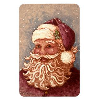 4884 navidad de Papá Noel Iman Rectangular
