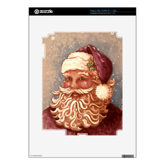 4884 Santa Claus Christmas Decals For iPad 2