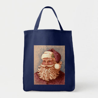 4884 Santa Claus Christmas Tote Bag