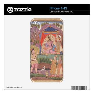 48.6/2 el folio 138 Farhad cuenta de nuevo sus ave iPhone 4 Calcomanías