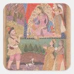48.6/2 el folio 138 Farhad cuenta de nuevo sus Pegatina Cuadrada
