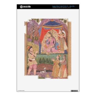 48.6/2 folio 138 Farhad recounts his adventures to iPad 3 Skin
