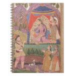 48.6/2 folio 138 Farhad recounts his adventures to Spiral Notebook