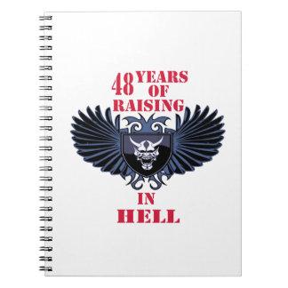 48 años de aumento en infierno libro de apuntes