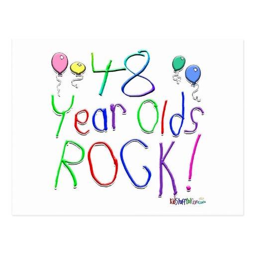 ¡48 años de la roca! postal