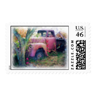 48' Chevy Truck Postage Stamps