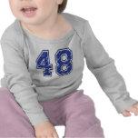 48 Custom Jersey Tee Shirts