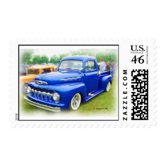 48' Ford Truck Postage Stamps