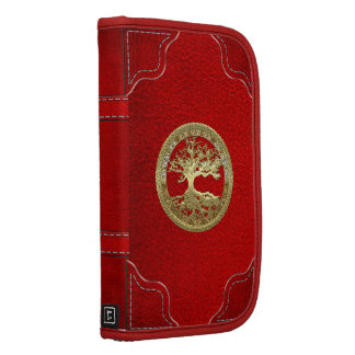 [48] Golden Celtic Tree of Life Folio Planner