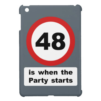 48 is when the Party Starts iPad Mini Case