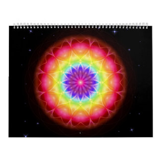 48 Mandalas as a ring binder Calendar