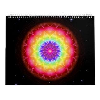 48 mandalas como carpeta de anillo calendario