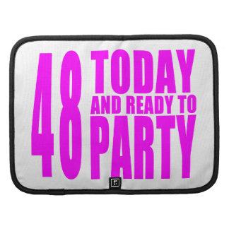48.os cumpleaños de los chicas: 48 hoy y aliste organizadores