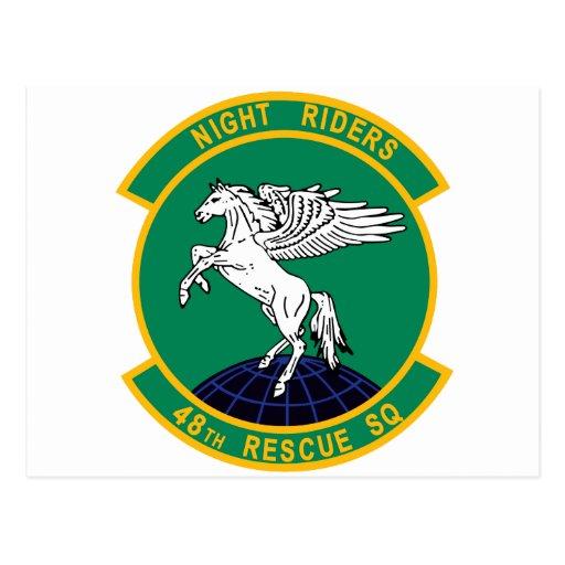 48 Rescue Squadron Postcard