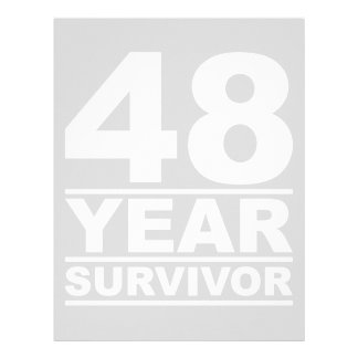 48 year survivor letterhead