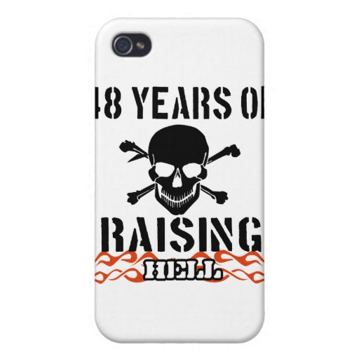48 years of raising hell iPhone 4 cases