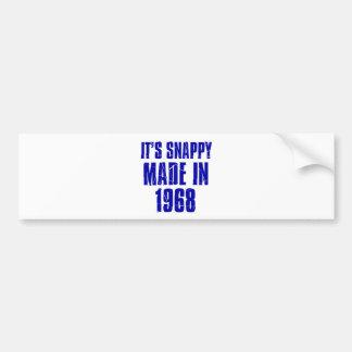 48 years Old Birthday Designs Bumper Sticker
