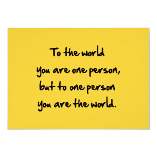 48bb4e world one person encouragement comments card
