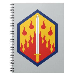 48th Chemical Brigade Spiral Notebook