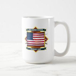 48th Illinois Volunteer Infantry Classic White Coffee Mug