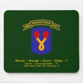 48th IPSD - 196th LIB Mouse Pad