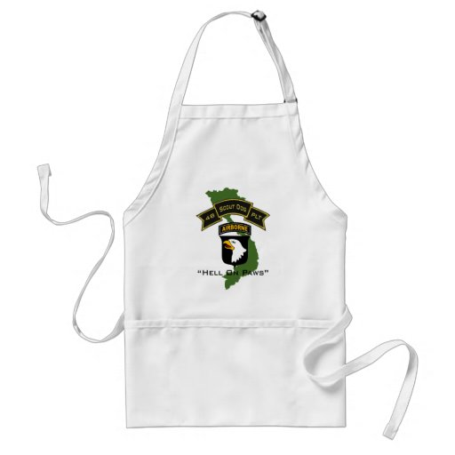 48th Scout Dog Platoon 101ID Apron