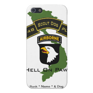 48th Scout Dog Platoon 101ID Covers For iPhone 5