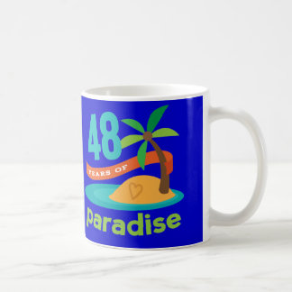 48th Wedding Anniversary Funny Gift For Her Coffee Mugs