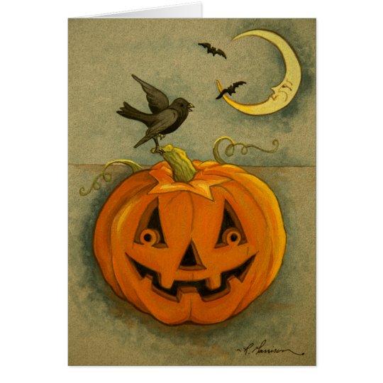 4900 Halloween Greeting Card Aunt & her Girlfriend