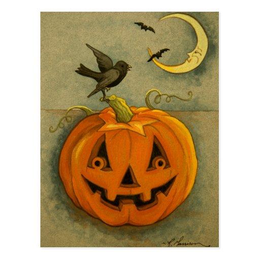 4900 Halloween Postcard