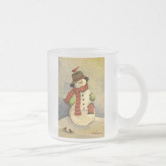 4905 Snowman & Birdhouse Christmas Mugs