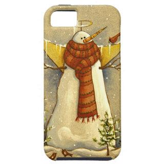 4907 Snow Angel & Birds iPhone SE/5/5s Case