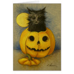 4919 Black Magic Kitty Birthday Card