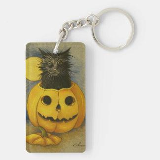 4919 Black Magic Kitty Key Chaing Keychain