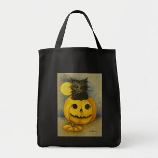 4919 Black Magic Kitty Tote Bag