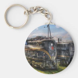 4919 - Locomotora eléctrica del ferrocarril de Llavero Redondo Tipo Pin