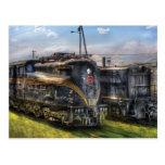 4919 - Pennsylvania Railroad electric locomotive Postcard