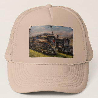 4919 - Pennsylvania Railroad electric locomotive Trucker Hat