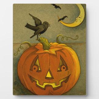 4923 Halloween Plaque
