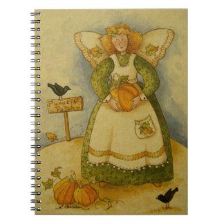 4929 Harvest Angel Notebook