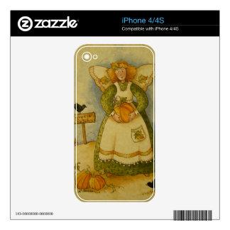 4929 Harvest Angel Skin For iPhone 4