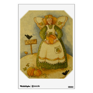 4929 Harvest Angel Wall Decal