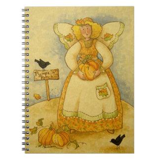 4934 Harvest Angel Notebook