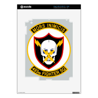 493rd Fighter Squadron Decal For iPad 2