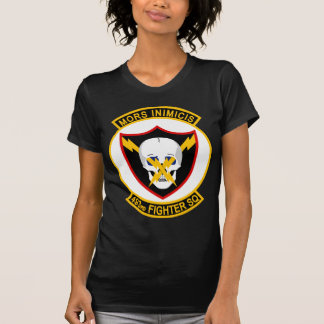 493rd Fighter Squadron - Mors Inimicis Tee Shirts