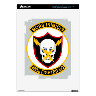 493rd Fighter Squadron Skin For iPad 3