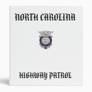 494px-NC_-_Highway_Patrol_Badge, NORTH CAROLINA... Binder