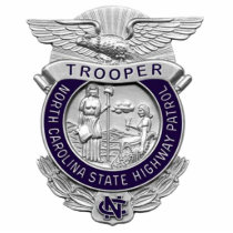 494px-NC_-_Highway_Patrol_Badge Statuette